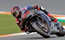 Viñales comienza mandando en el arranque MotoGP