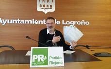 El PR+ presenta 62 enmiendas al presupuesto municipal de Logroño para el 2019