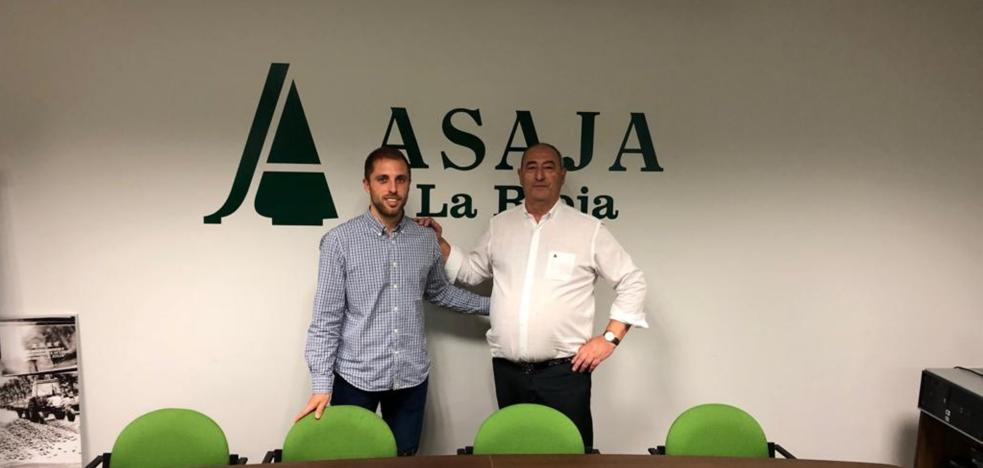 Un viticultor de 29 años sustituirá a Javier Rubio al frente de ARAG-Asaja