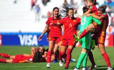 La España de Ana Tejada llega a semifinales en los penaltis