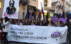 La sociedad riojana condena la violencia machista con actos en las calles