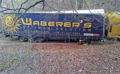El camión que subió al San Lorenzo