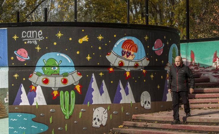 El Parque del Ebro presume de arte