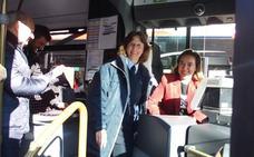 Cuatro vehículos híbridos, en la flota de autobuses urbanos de Logroño
