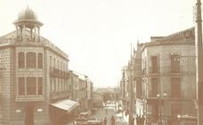La Retina: foto antigua de la calle Mártires de Calahorra