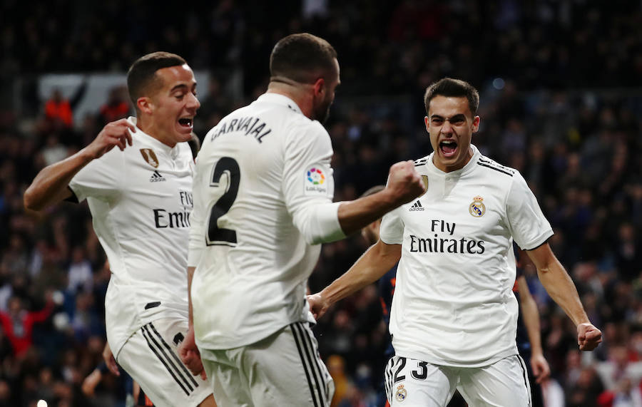 Las mejores imágenes del Real Madrid-Valencia