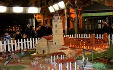Abierto al público el belén del paseo del Mercadal, compuesto de 500 piezas