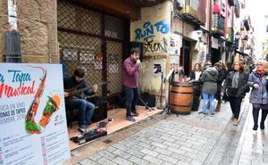 La 'tapa musical' se estrenó ayer en San Juan