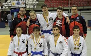 Siete medallas riojanas en Puertollano