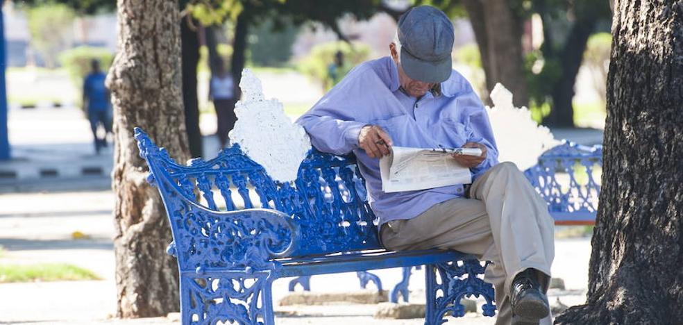 Una de cada 4 pensiones riojanas se sitúa por debajo del umbral de la pobreza