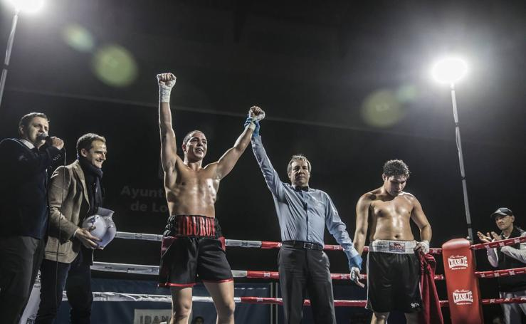 Velada de boxeo en Logroño