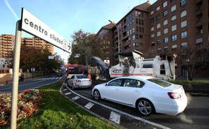 Reasfaltado sin atascos en Avenida Madrid