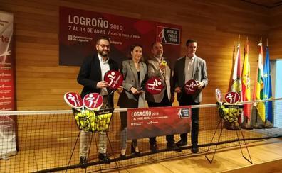 El World Pádel Tour recalará en Logroño del 7 al 14 de abril