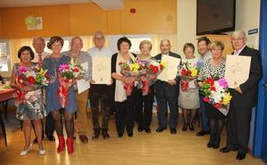 Homenaje a seis parejas por sus bodas de oro