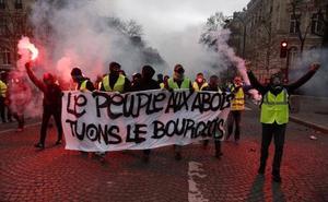 Macron llama a la calma para evitar otro 'sábado negro' en Francia