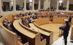Ceniceros reconoce que hay «legítimas aspiraciones» de cambiar la Constitución