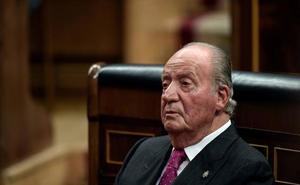 IU y PCE se querellan contra Juan Carlos I por constitución de grupo criminal