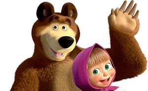 Masha y el oso, en sesión doble