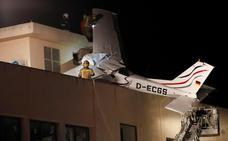 Dos muertos al estrellarse su avioneta contra una gasolinera