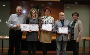 Alfaro entrega sus XXIV Premios Literarios