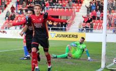 El gol del Mirandés-UDL: un error defensivo, una derrota