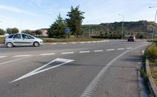 La carretera de Villamediana a Logroño, cortada desde este lunes por obras