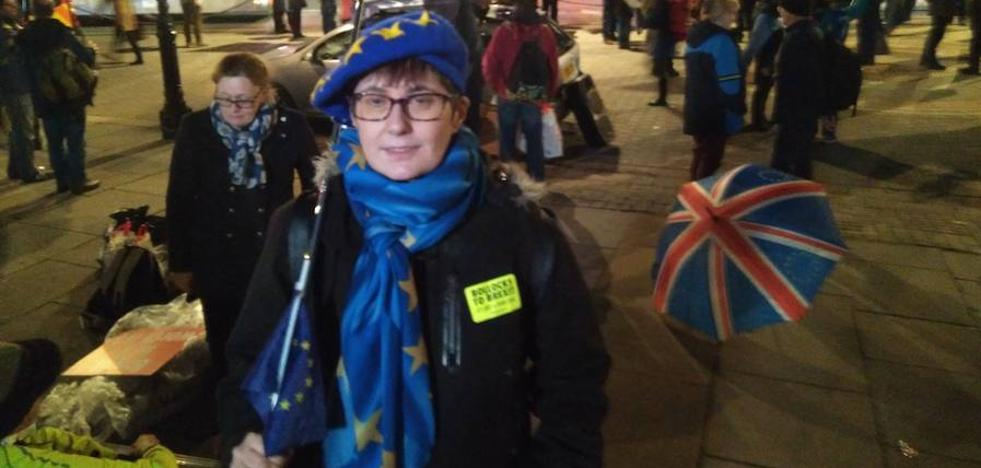 Conduciendo un metro contra el 'brexit'
