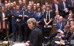 May burla al Parlamento británico