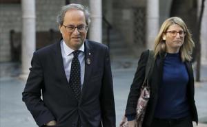 El Govern acusa a Sánchez de falta de «lealtad institucional» y le emplaza al diálogo, no al 155