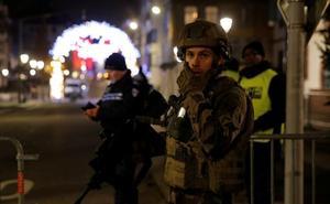 Dos muertos y once heridos por disparos en un atentado en Estrasburgo