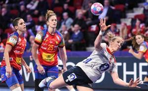 España sólo resiste un tiempo ante Noruega