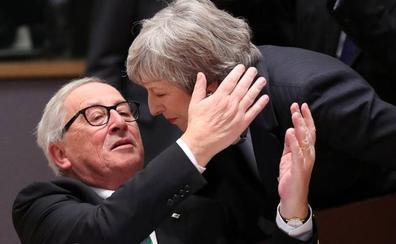 May amarra sólo el apoyo político de la UE