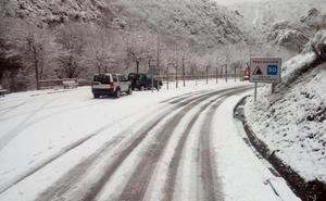 Alerta amarilla por nieve en La Rioja