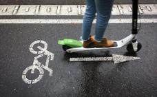 Los patinetes, implicados en 273 accidentes durante 2018