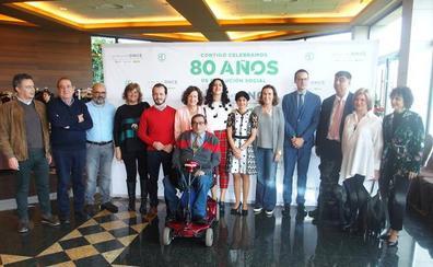 Gamarra alaba el papel de la ONCE como «motor de cambio» de sociedad mejor