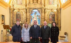 La ermita de la Virgen de la Cuesta de Ribafrecha abre tras su rehabilitación