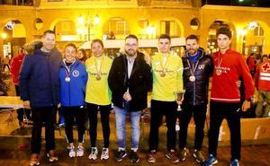 Ignacio García y Susana Arrua, ganadores en las calles de Logroño