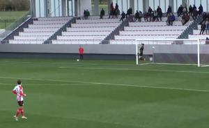 Los goles del Bilbao Athletic-Calahorra
