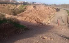 El nuevo tramo del Camino sufre actos vandálicos antes de recibir la obra el Ayuntamiento