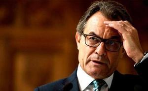 El Supremo rebaja la inhabilitación de Mas por el 9-N en vísperas del juicio del 'procés'