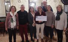El Círculo de la Amistad entrega 1.400 euros a la Asociación Hospital Imaginario