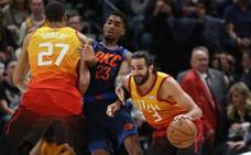 Un gran Ricky Rubio no evita la derrota de Utah Jazz