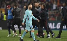 Roma estropeó el gran 2018 del Barça