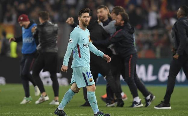 Roma Estropeó El Gran 2018 Del Barça La Rioja