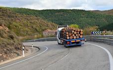 Fomento arreglará el trazado de la N-111 en Torrecilla y Nieva