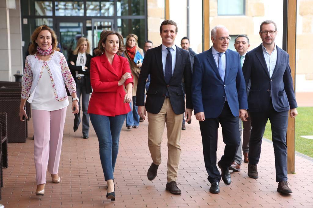 Ceniceros y Gamarra, candidatos del PP al Gobierno riojano y a la Alcaldía de Logroño