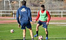 Emilio ya se entrena con el Calahorra