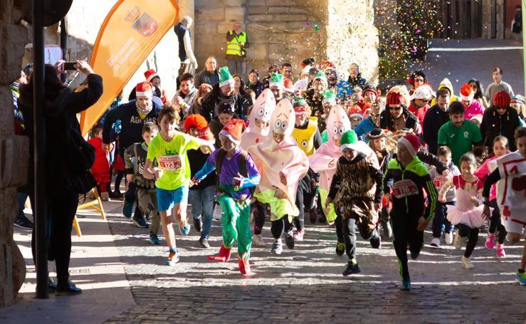 Navarrete corre su San Silvestre matutina