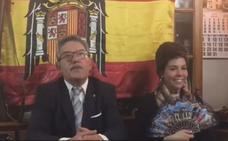 La «inocentada» del alcalde de Gallinero de Cameros imitando a Franco