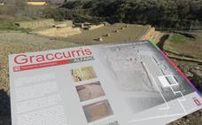 Unos renovados carteles guiarán la visita al yacimiento de Graccurris
